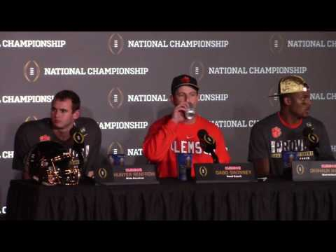 Download TigerNet.com - Dabo Swinney postgame press conference after winning National Championship