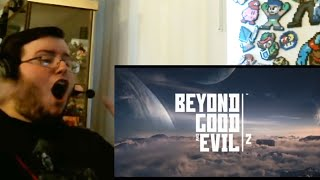 BEYOND GOOD & EVIL 2 REVEAL TRAILER - E3 2017 GROUP REACTION (OH MY GODDDD!!!)