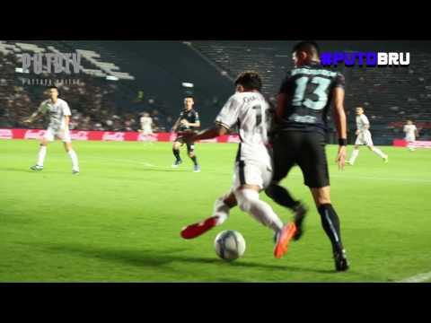 PUTDTV GOAL Highlight : Thai League 2017 : Pattaya United 0 - 2 Buriram United