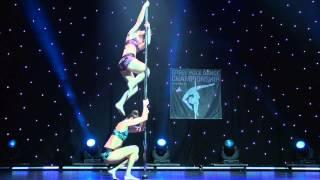 Aggeliki Rerra & Thalia Loulis - Champions Doubles Division - Greek Pole Dance Championship 2015