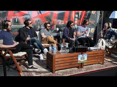 Kat Corbett Interviews Desaparecidos at the KROQ Coachella House