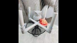How to Make a Basic Glitter Tumbler Drying Rack