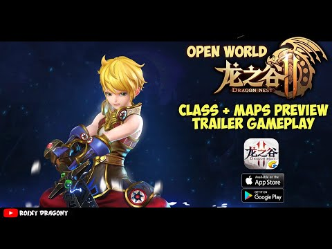 Grafiknya Keren 😱 - Dragon Nest 2 (Trailer Gameplay)  Class + Map Preview -Android/iOS
