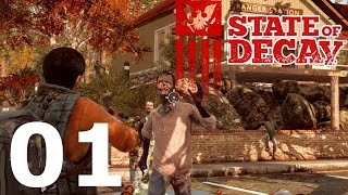 State of Decay: YOSE Day One Edition Let's Play #01 – Überlebe! [GERMAN DEUTSCH]