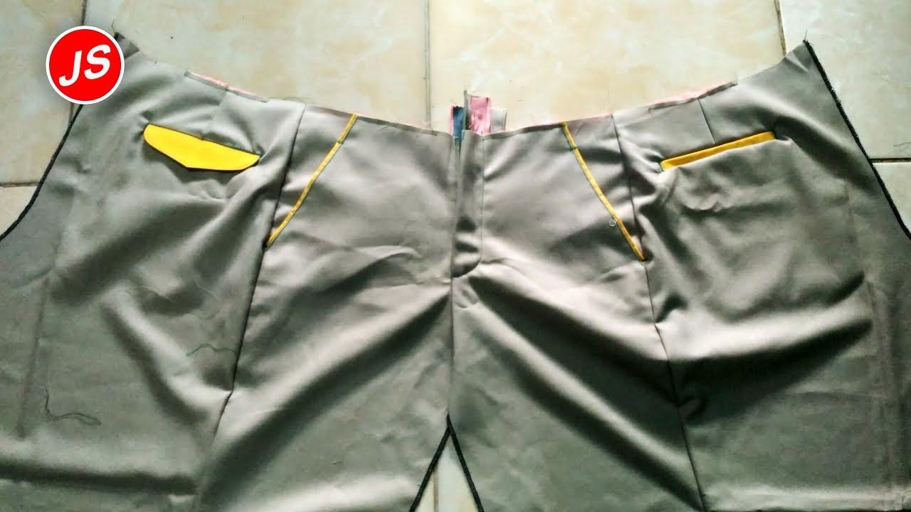 Cara menjahit resleting celana,menjahit golbi congklot resleting cara menjahit celana panjang 7