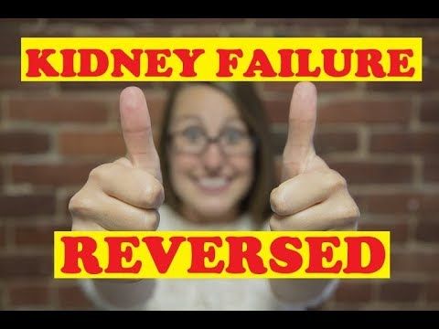 Kidney failure reversed by accident - Not baking soda or vegetable diet - How to