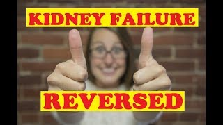 Kidney failure reversed GFR by accident - Not baking soda or vegetable diet - How to