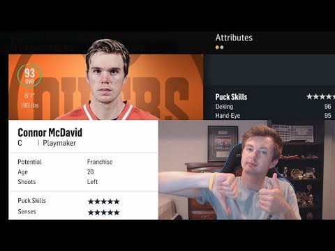 NHL 18 - PLAYER AND GOALIE RATINGS REVIEW