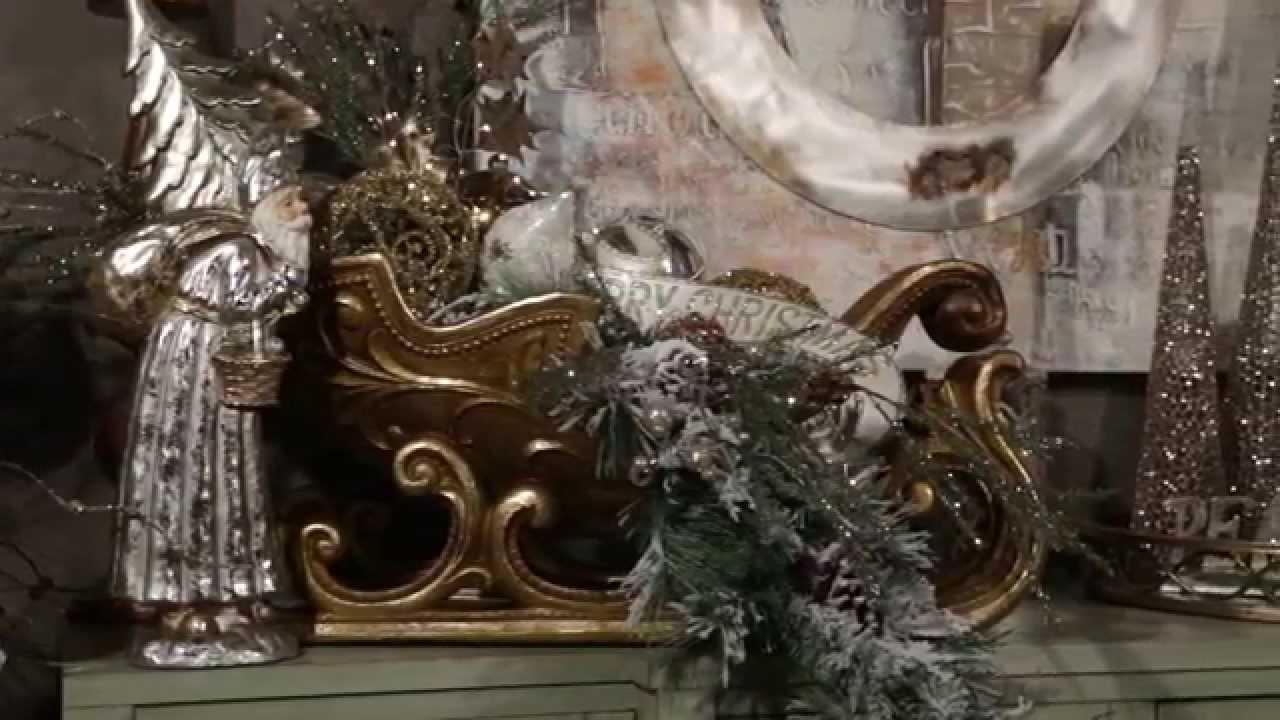 holiday glamour christmas decorating theme 2015 youtube
