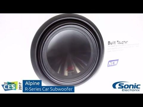 Alpine R-Series Car Subwoofer | CES 2017