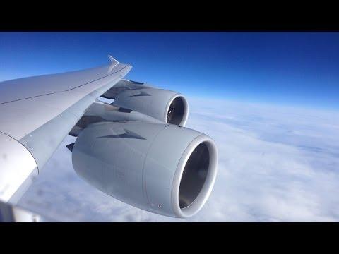 Shanghai - Frankfurt Lufthansa Airbus A380 (D-AIMG)
