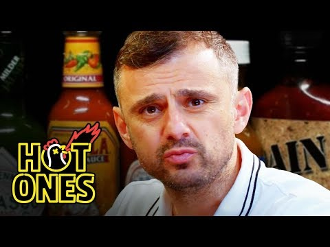 Thumbnail: Gary Vaynerchuk Tests His Mental Toughness While Eating Spicy Wings | Hot Ones