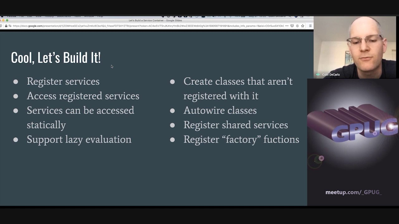 Let's Build A Service Container!