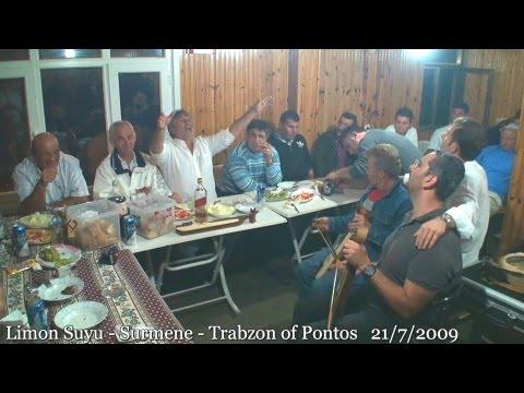 Adem Ekiz ( Beşköylü ) mouhapet' Limon Suyu - Çaykara - Trabzon of Pontos  21/7/2009 - Αντέμ Εκίζ