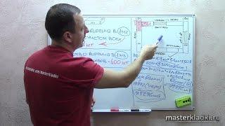 Расчет кирпича - [© masterkladki](Скачайте БЕСПЛАТНО Мини-курс по кирпичной кладке: http://masterkladki.ru/mini_kurs Видео-курс: