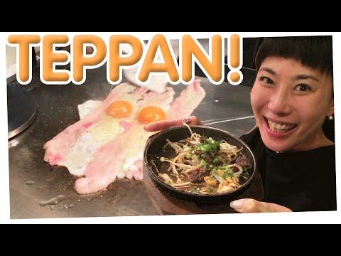 You can't handle the TEPPAN! | Teppan restaurant in Shimbashi Tokyo