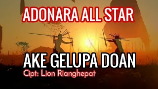 LAGU DAERAH FLORES TIMUR-LAMOHOLOT. AKE GELUPA DOAN. VOKAL: ADONARA ALL STAR. (OFFICIAL MUSIC VIDEO)