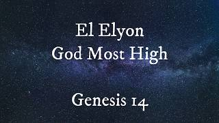 He Is... Names of God (From Genesis to Revelation)