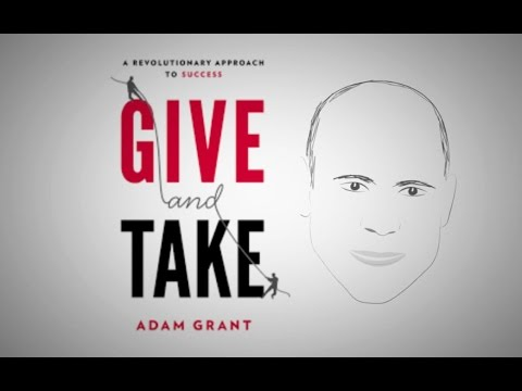 Benefits of Being a Giver | ANIMATED MESSAGE: Give & Take by Adam Grant