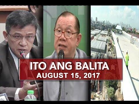 UNTV: Ito Ang Balita (August 15, 2017)