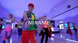Mirame - Andrea Rocha | Zumba Choreography | Reggaeton, Pop | PR Dance Studio Team