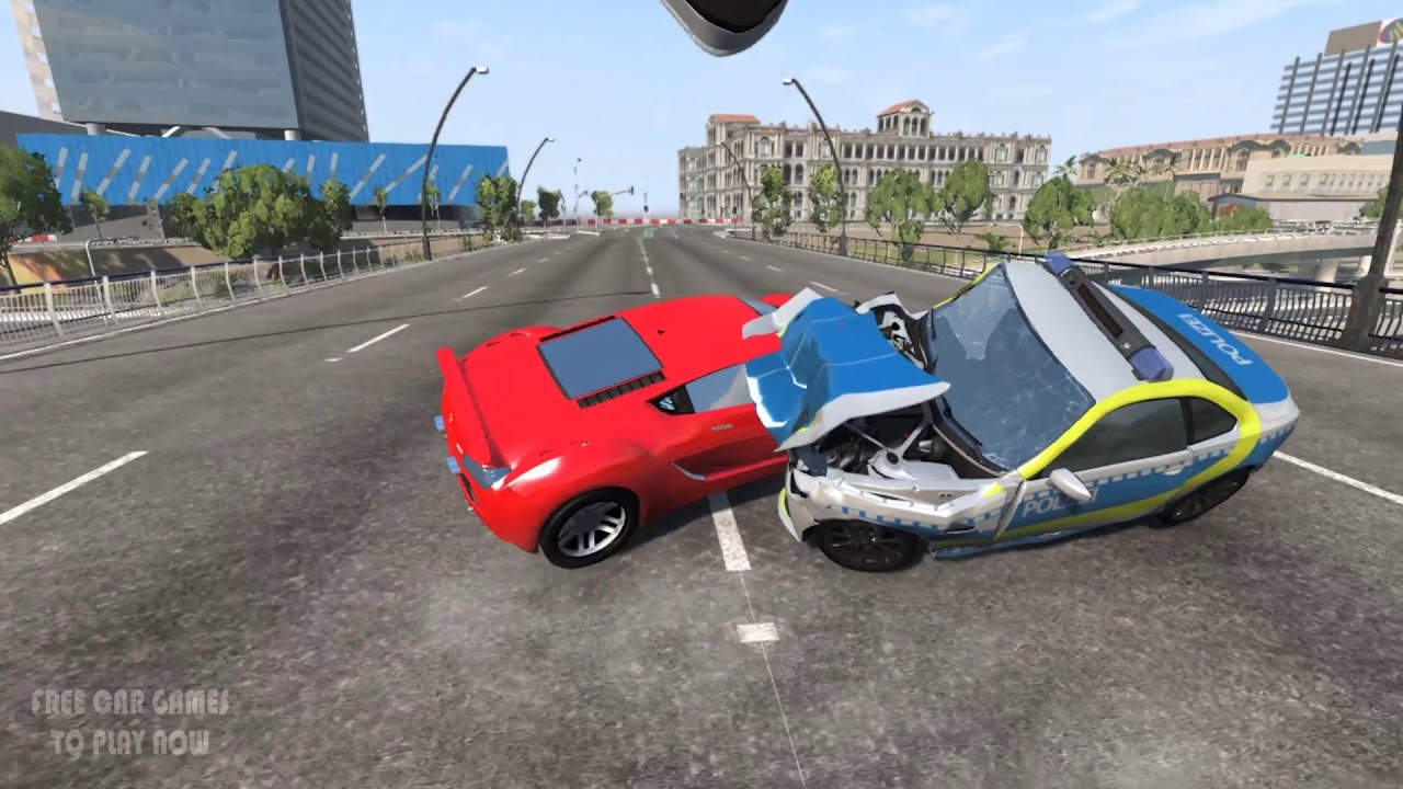 Car Crashes Realistic High Speed Crashes Beamng Drive Free Car