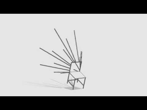 50 manga chairs designed by nendo for Friedman Benda
