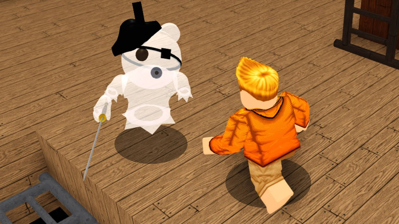 ROBLOX GHOSTY vs PIGGY.. (Piggy Custom Maps)