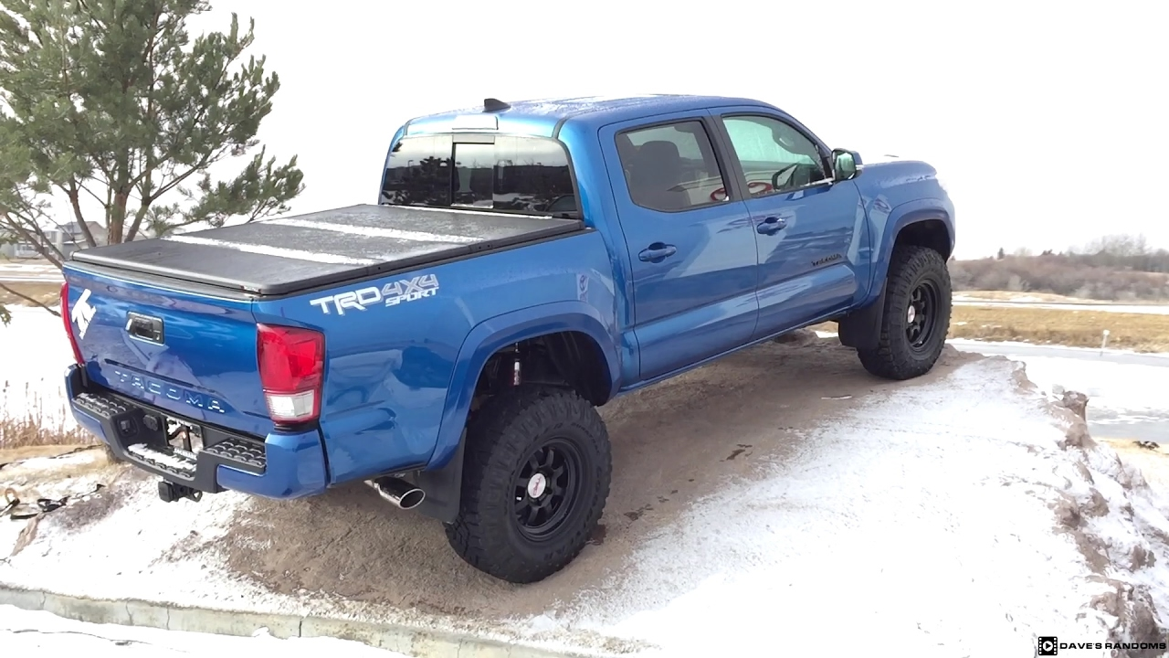 2017 Toyota Tacoma Trd Off Road Lifted