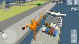 Cargo Ship Manual Crane 17 - Android Gameplay #1