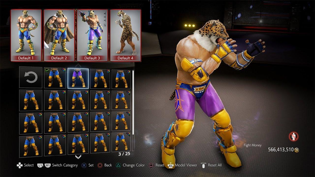 Tekken 7 Mod Legacy Costume Online King Youtube