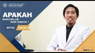 Ayo Hidup Sehat tvOne membahas tentang Mandi Malam Kok Dilarang ? bersama dr. Reinita Arlin Puspita,.