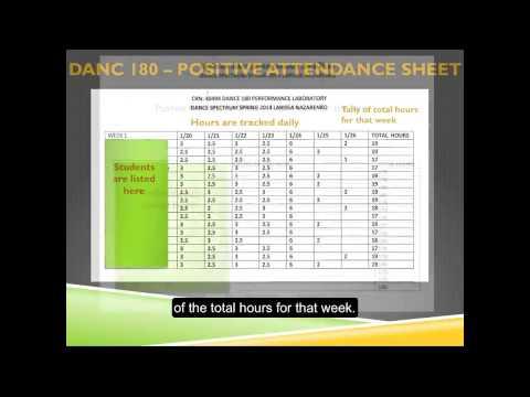 Positive Attendance Presentation Video