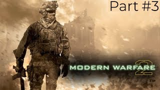 Call Of Duty: Modern Warfare 2 Veteran Walkthrough Part 3 Cliffhanger