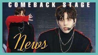 [Solo Debut] Jang Dong Woo - News,  장동우 - News Show Music core 20190309