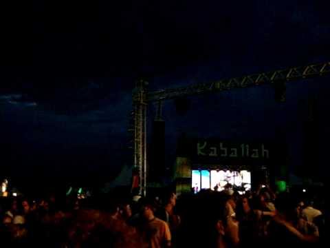 1200 MICS Live band @ Kaballah & Orbital 20/03/2010  Fazenda Maeda ITU - SP PART 1