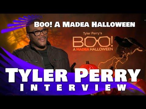 TYLER PERRY INTERVIEW - BOO! A MADEA HALLOWEEN
