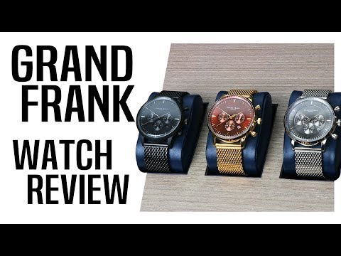 GRAND FRANK Watches HONEST Review | A Great Surprise or Waste of Cash?