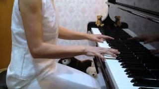 """久石譲「もののけ姫」ピアノ版J.Hisaishi """"Mononokehime"""" Izumi Tsuchiya"""
