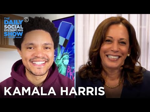 Kamala Harris - Coronavirus, Police Reform, And Unifying America | The Daily Social Distancing Show