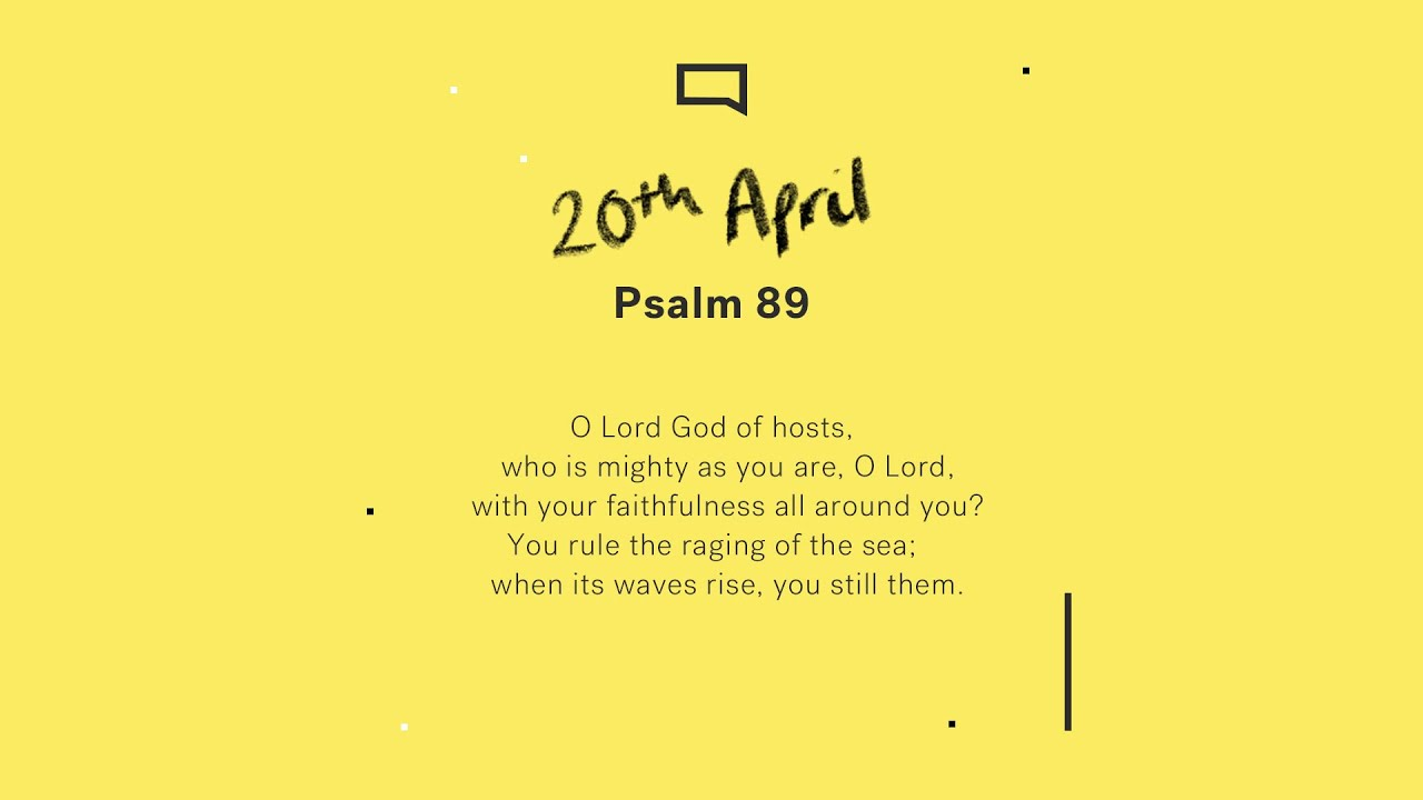 Daily Devotion // Psalm 89 Cover Image