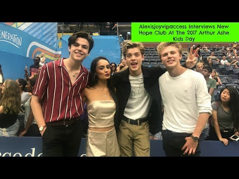 New Hope Club Interview With Alexisjoyvipaccess At The 2017 Arthur Ashe Kids Day