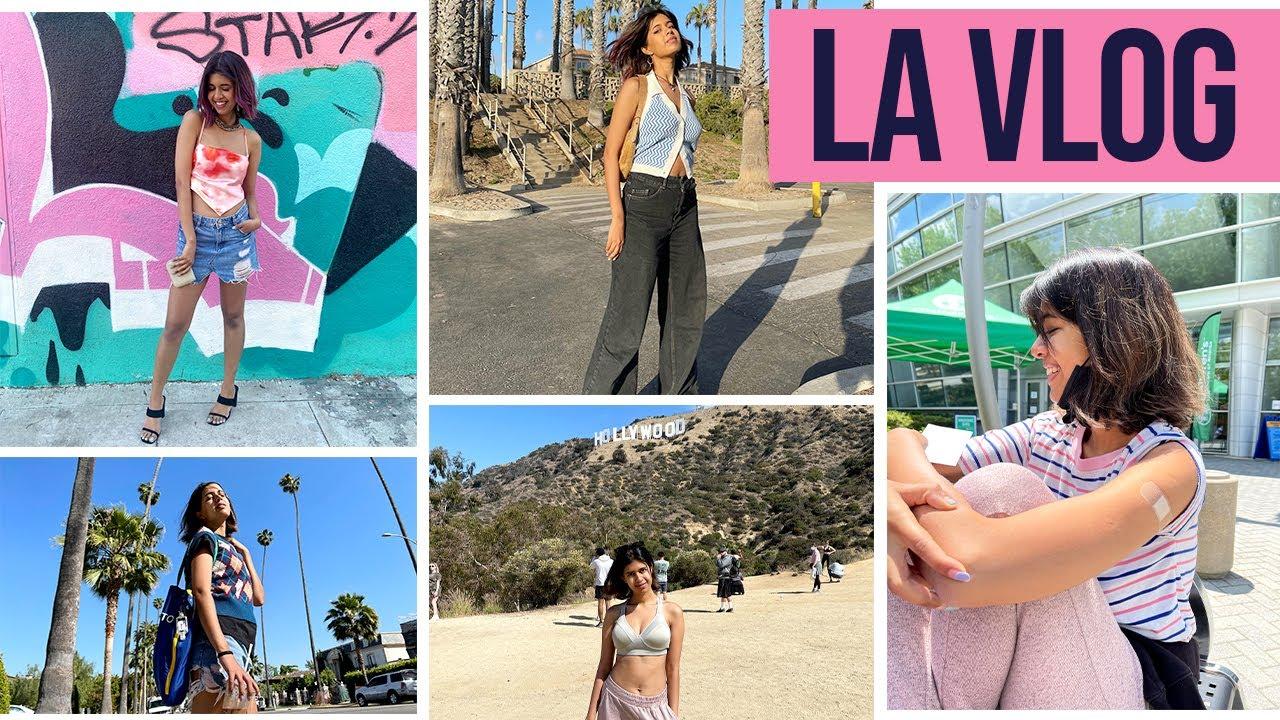 LA Vlog | I finally got vaccinated | Sejal Kumar