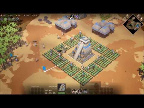 """Empires Apart"" RTS Skirmish (hardest): Aztecs vs Byzantines"