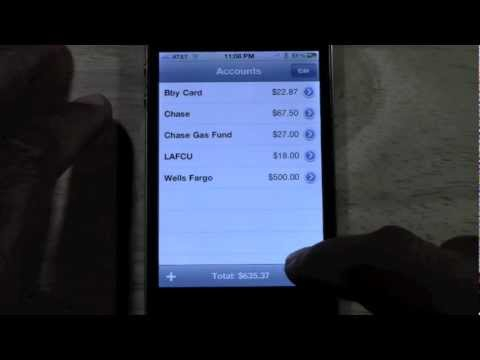 Cool iPhone App - Balance (Great For Balancing Your Checkbook) | H2TechVideos