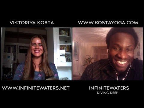 Infinite Waters Interview With Viktoriya Kosta (The Art of Yoga)