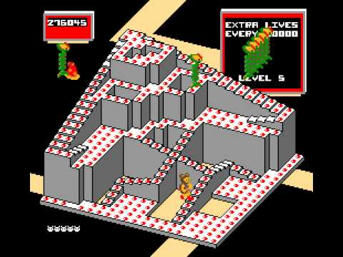 Arcade Game: Crystal Castles (1983 Atari) [Re-Uploaded]