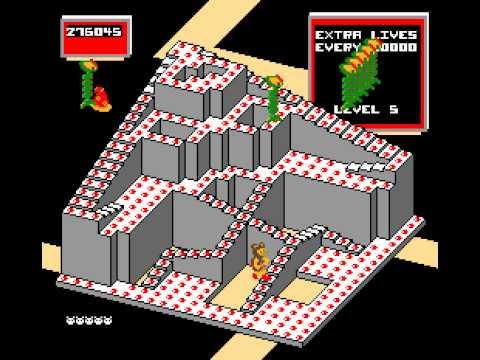 Arcade Game: Crystal Castles (1983 Atari) [Re-Uploaded]