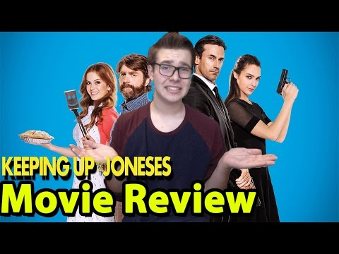 Keeping Up With The Joneses - Movie Review