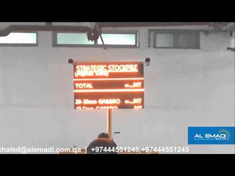 integer A Solar LED Traffic Light